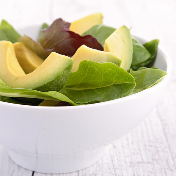 Avocado salad with French vinaigrette