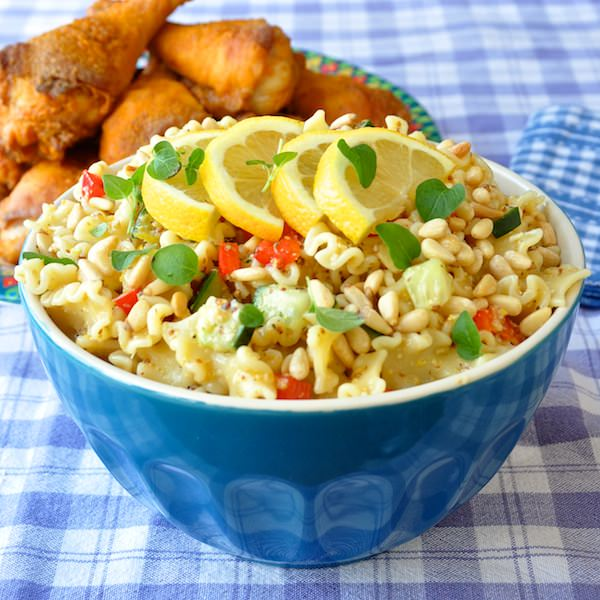 Honey pasta salad