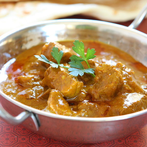 Lamb masala in spicy creamy sauce