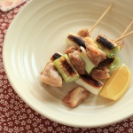 Yakitori chicken skewers
