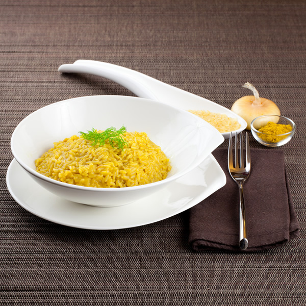 Risotto milanese style