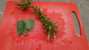Rosemary and sage