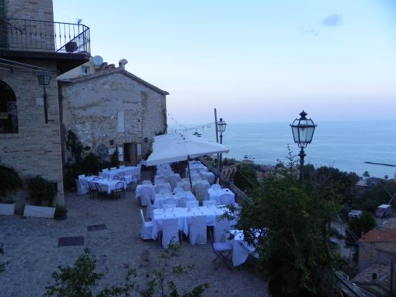 Grottammare village by the sea