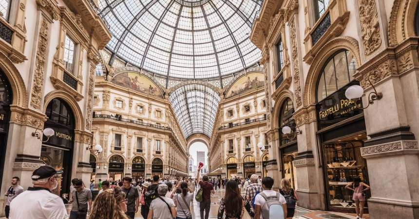 Milan's Galleria
