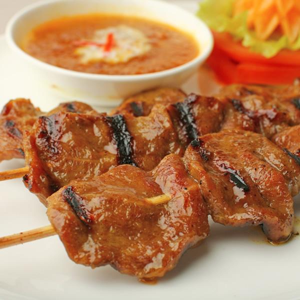 Chinese beef satay