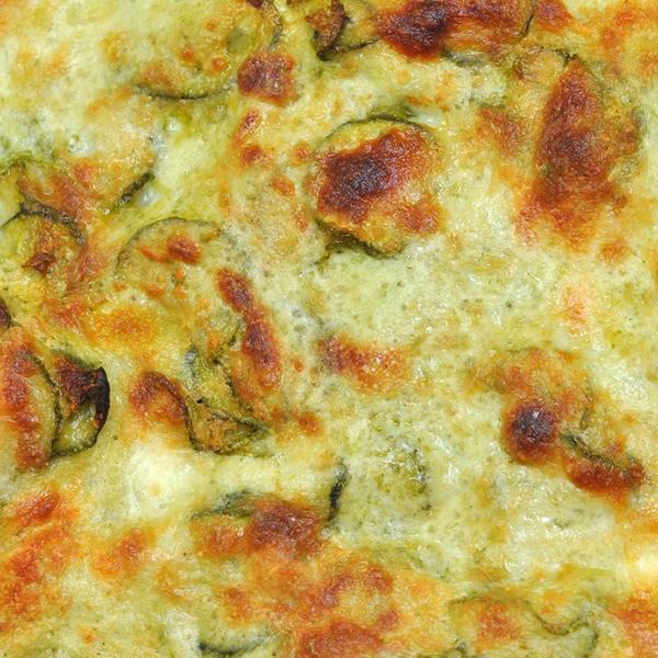 Zucchini egg frittata