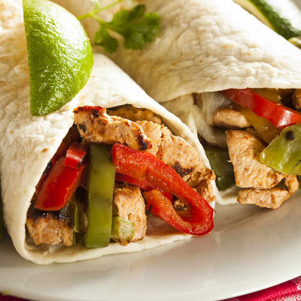 Chicken fajitas Mexican recipe
