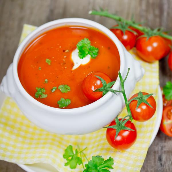 French tomato soup