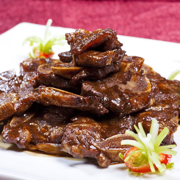 Chinese black pepper steak