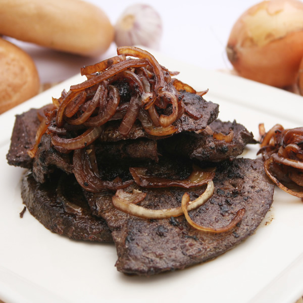 Liver with onions