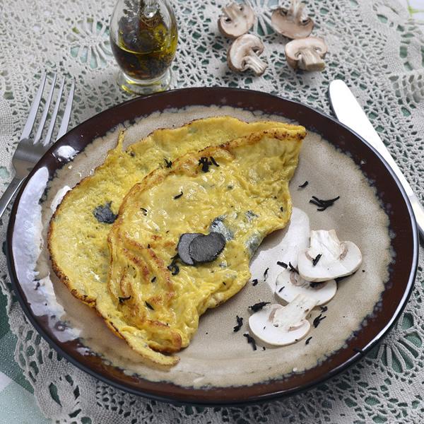 Truffle egg omelette